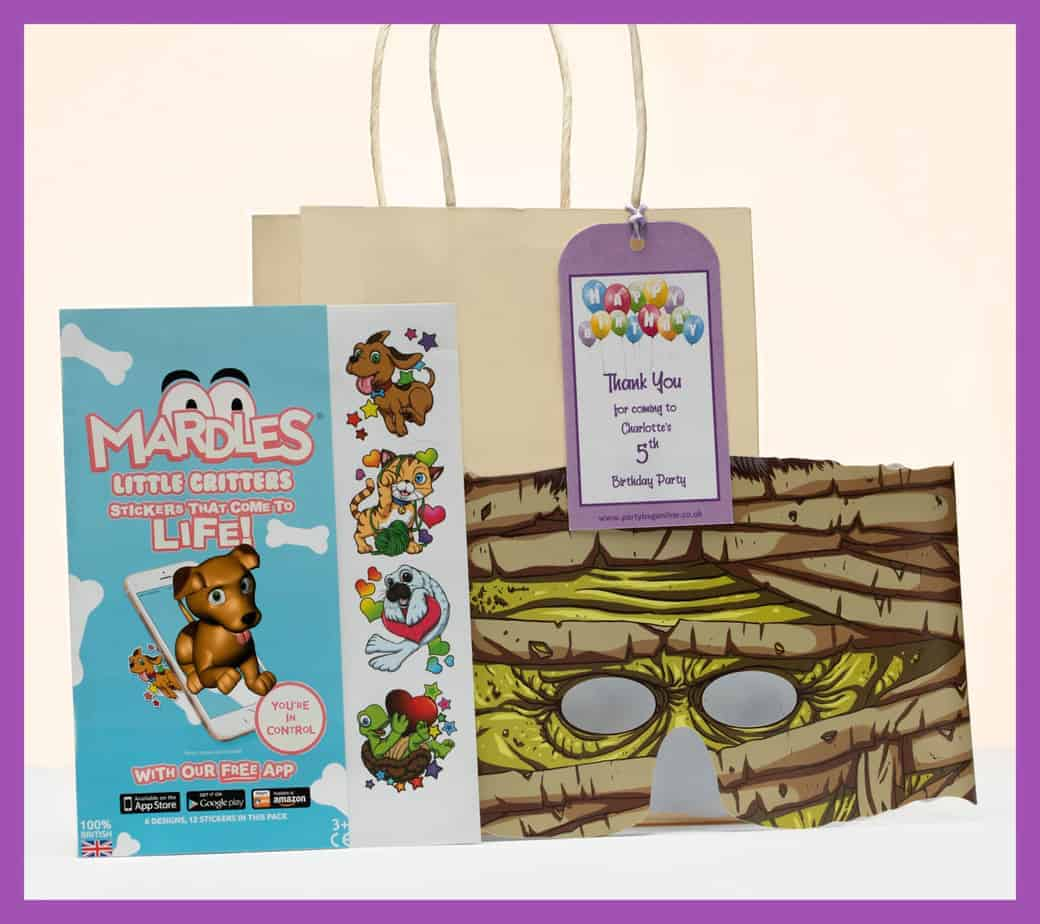Partybagonline.co.uk supplies high quality party bags contents for childrens birthday parties in the UK.