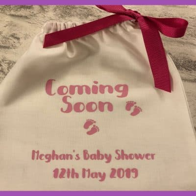PartyBagOnline Baby Shower Cotton Bag