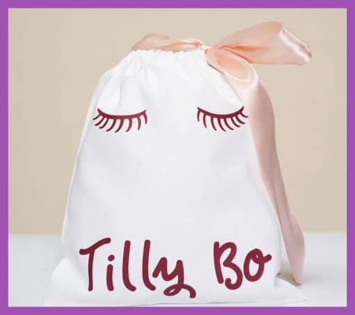 Party Bag Online cotton bag sleepover